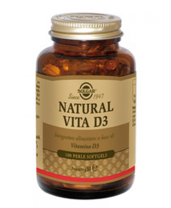 Natural Vita D3 100 Perle - Farmalilla