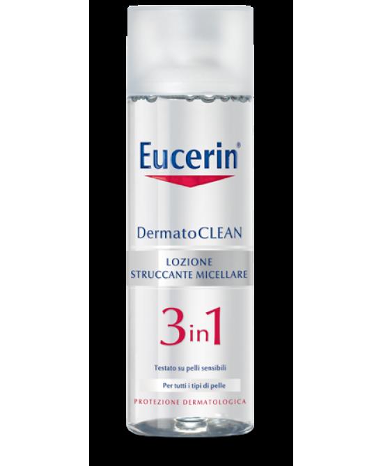 Eucerin DermatoClean Lozione Struccante Micellare 3 In 1 200ml - Zfarmacia