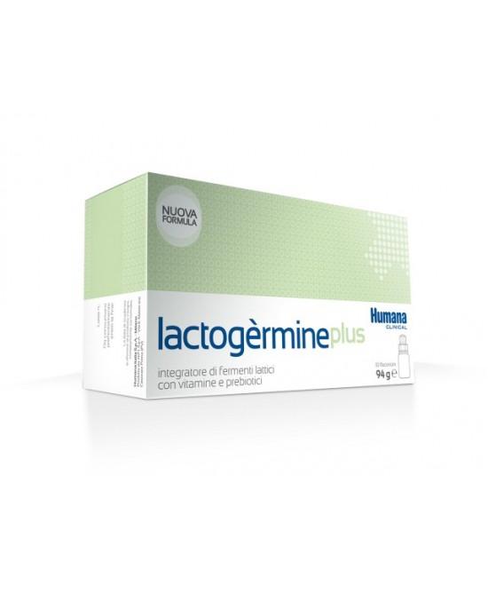 Humana Lactogermine Plus Integratore di Fermenti Lattici 10 Flaconi - FARMAEMPORIO