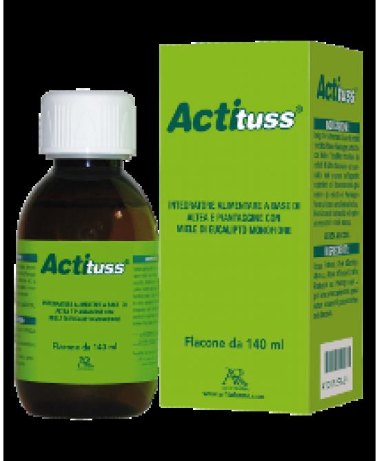 Actituss Sciroppo 140ml - Zfarmacia