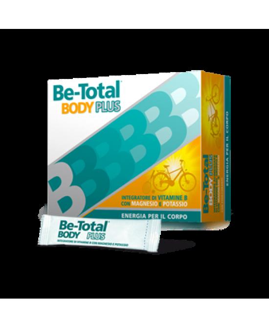 BeTotal Body Plus Integratore 20 Bustine - Zfarmacia
