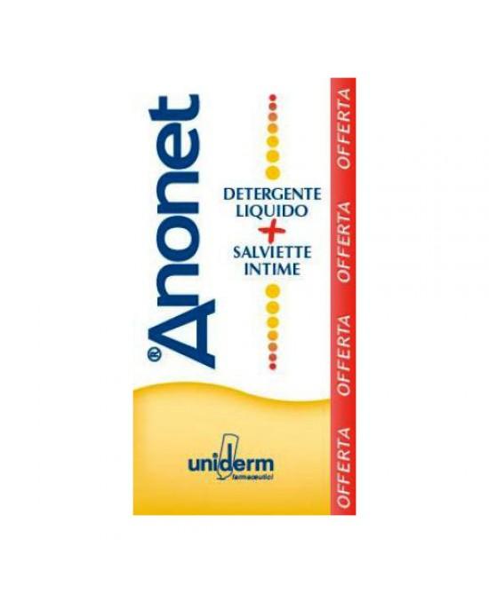 Uniderm Anonet Cofanetto Detergente Intimo 150ml + Salviette Intime 15 Pezzi - La tua farmacia online