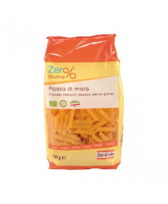 Fior Di Loto Zero% Pasta Di  Mais Penne Biologiche Senza Glutine 500g - FARMAEMPORIO