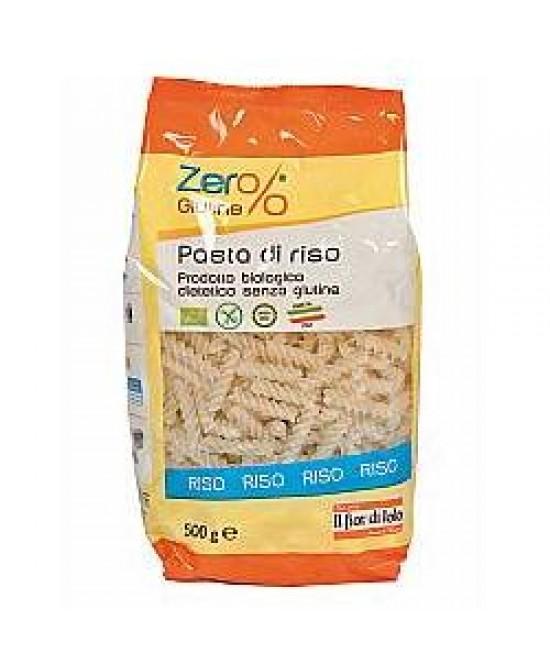 Zero% G Fusilli Riso Bio 500g - FARMAEMPORIO