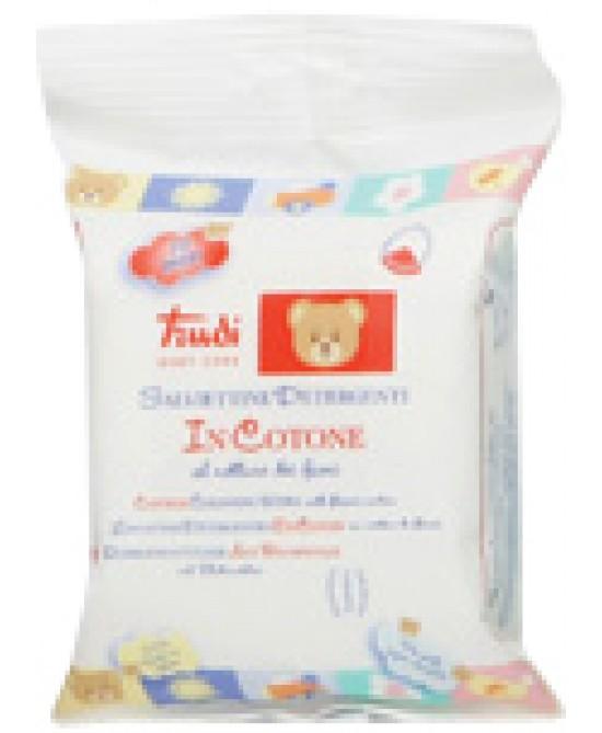 Trudi Baby Care Salviettine Detergenti In Cotone 20 Pezzi - Farmastar.it