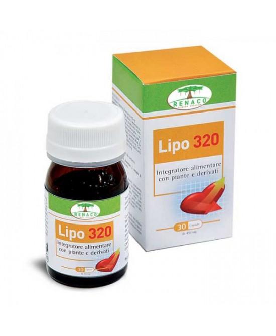 Lipo 320 Colesterolo E Cuore Integratore Alimentare 30 Compresse - FARMAEMPORIO