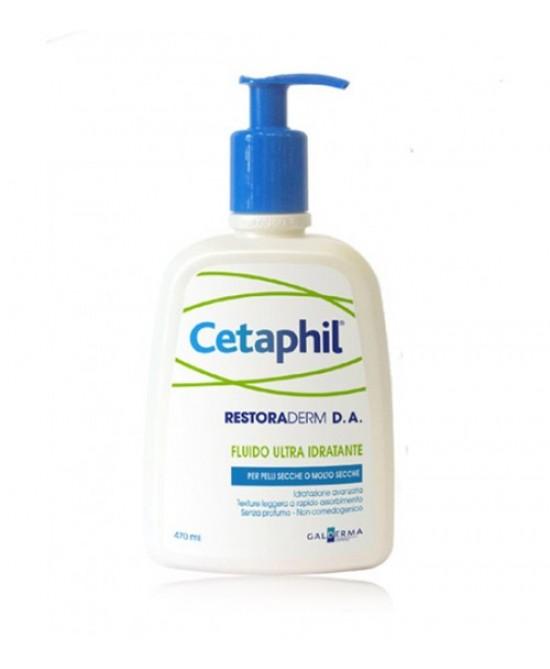 Cetaphil Restoraderm D.a. Fluido Ultra Idratante 470ml - FARMAEMPORIO