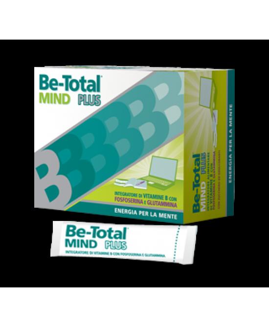 BeTotal Mind Plus Integratore Alimentare 20 Bustine - Zfarmacia