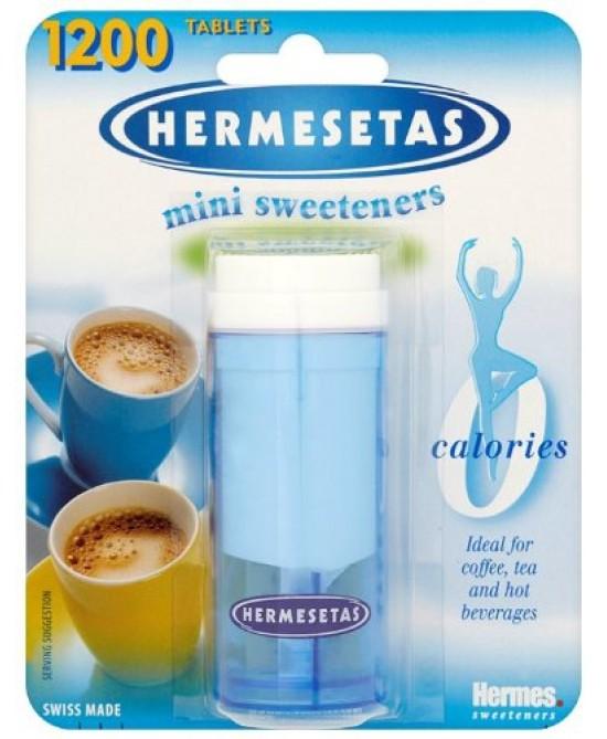 Hermesetas Dolcificante 1200 Compresse - Farmacento