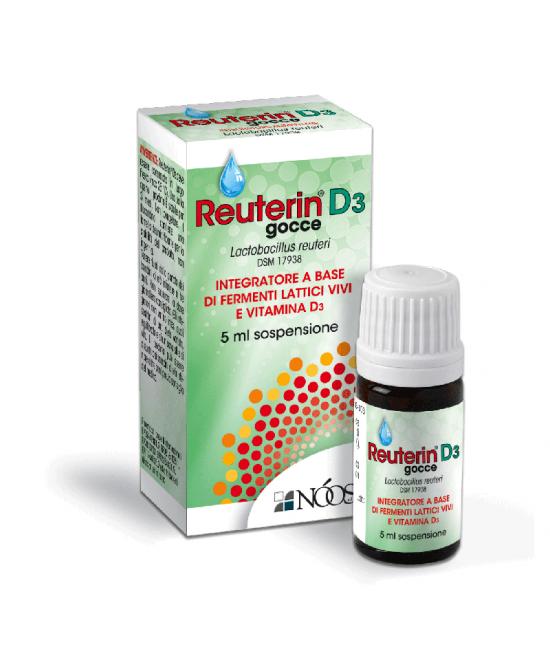 Nòos Reuterin D3 Fermenti Lattici Gocce 5ml - Farmacento