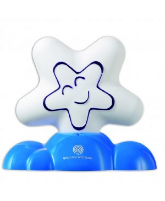 Quaranta Settimane Babylamp Lampada Notturna Portatile Colore Blu - Farmamille