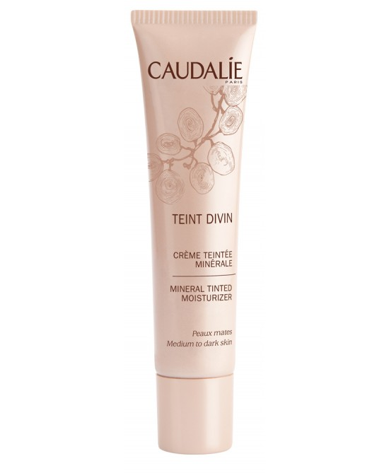 Caudalie Teint Divin Crema Colorata Minerale Pelli Scure 30ml - Farmastar.it