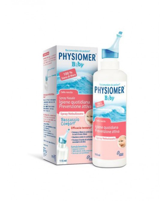 Physiomer Baby Spray Nasale Igiene Quotidiana Prevenzione Attiva  115ml - Farmastar.it