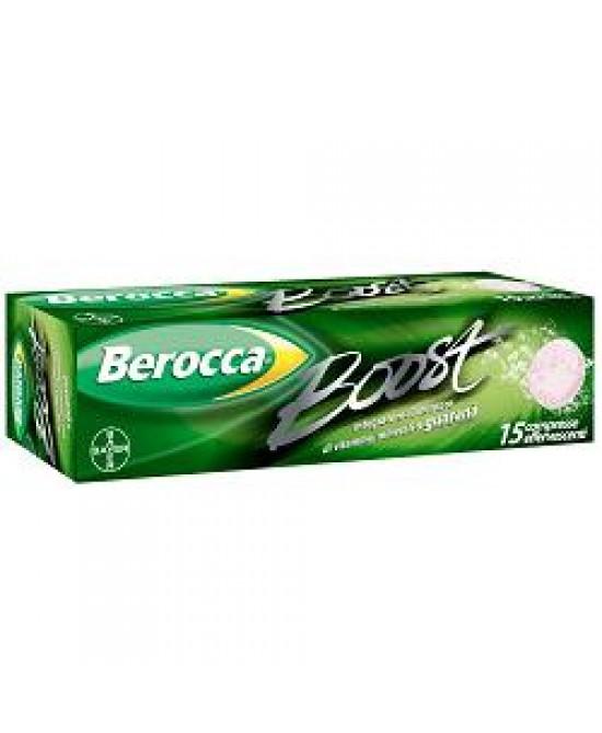 Berocca Boost 15cpr Efferv - Farmacento