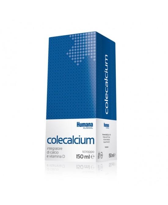 Humana Colecalcium Sciroppo Integratore Alimentare 150ml - Farmacento