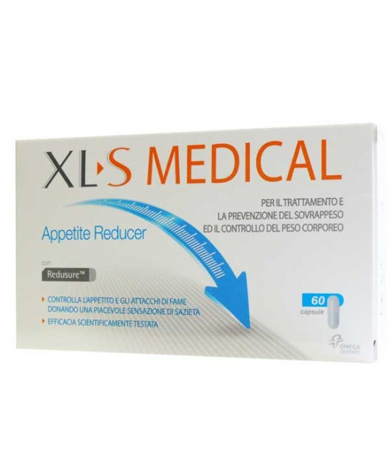 XLS Medical Appetite Reducer 60 Capsule - Farmabravo.it