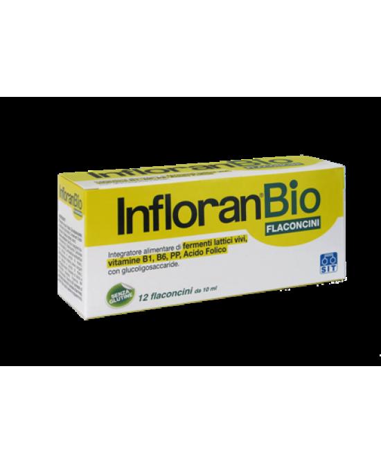 Infloran Bio Integratore Alimentare 12 Flaconi - Farmacia 33