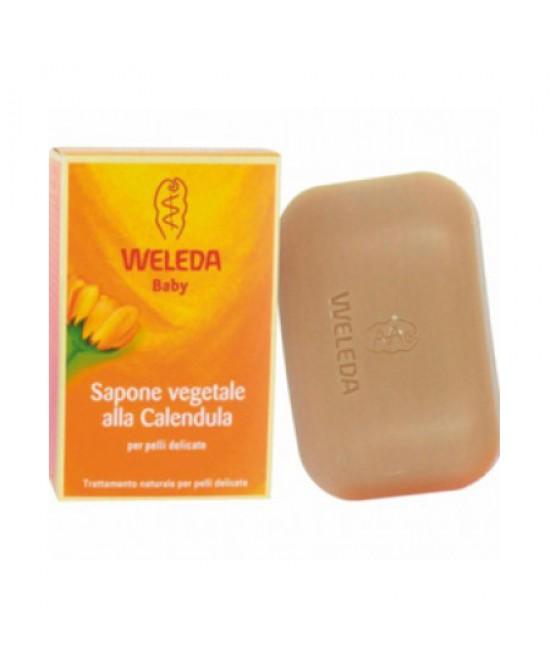 Weleda Baby Sapone Vegetale Calendula Per Pelli Delicate 100g - La tua farmacia online