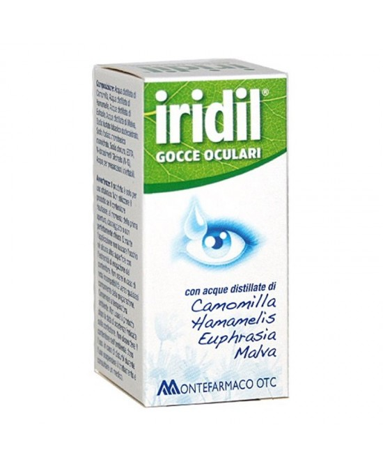 Montefarmaco Otc Iridil Gocce Oculari 10ml - Farmaciasconti.it