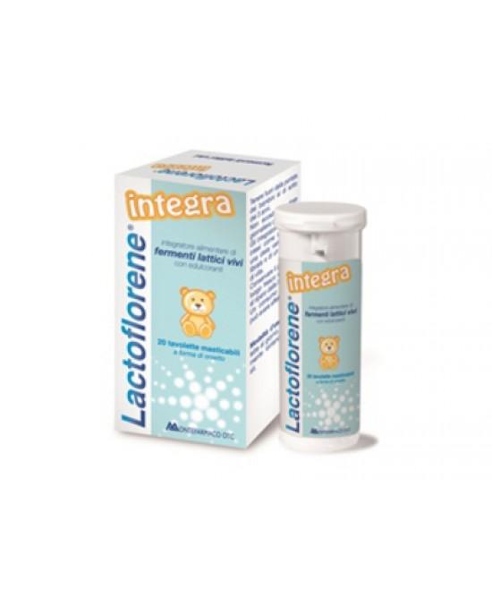 Lactoflorene Integra Integratore Alimentare 20 Tavolette Masticabili - Farmacento