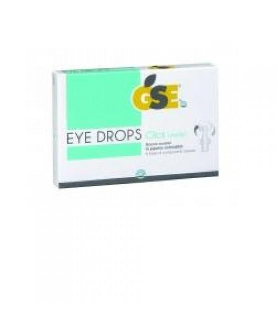 Gse Eye Drops Click Gocce Oculari 10 Contenitori Monodose da 5 ml - Farmastar.it