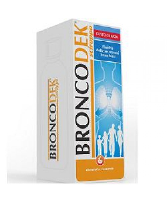 Broncodek Sciroppo 200ml - Farmacento