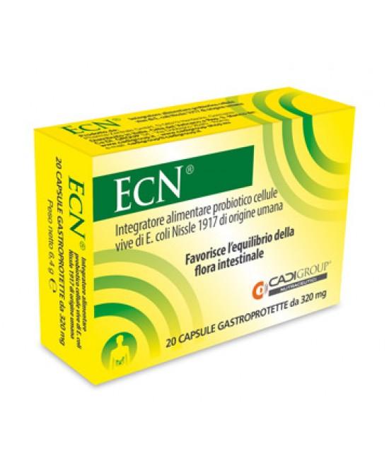 Cadi Group Ecn Integratore Alimentare 20 Capsule Gastroprotette - Zfarmacia