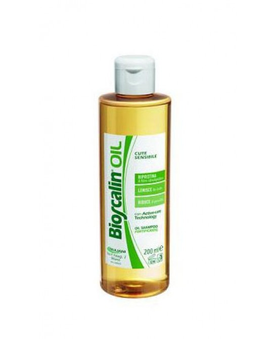 Giuliani Bioscalin Oil Shampoo Anticaduta 200ml - Zfarmacia