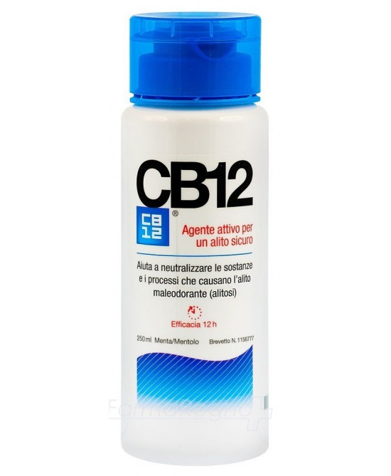 CB12 Collutorio Trattamento Alitosi 250ml - Farmacento