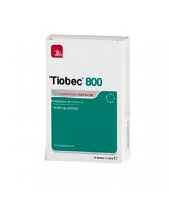 Tiobec 800 20cpr 32g - Zfarmacia