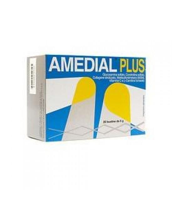 Amedial Plus Integratore Alimentare 20 Bustine da 5gr - Zfarmacia
