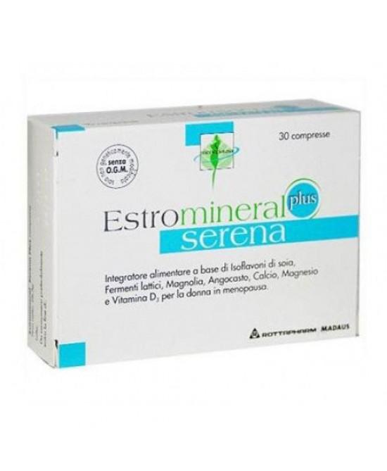 Rottapharm Estromineral Serena Plus  Integratore Alimentare 30 Compresse - Farmacento