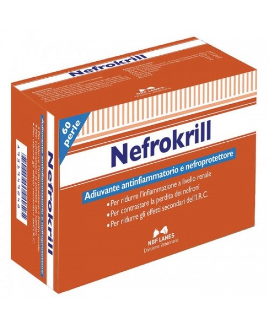 Nefrokrill Gatti 60 Perle - La tua farmacia online