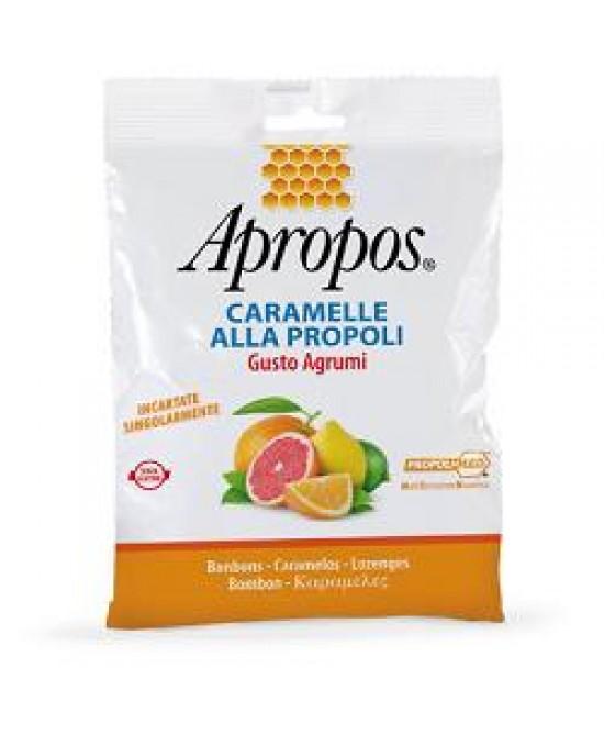 Desa Pharma Apropos Caramelle Propoli Gusto Agrumi 50g - Farmastar.it