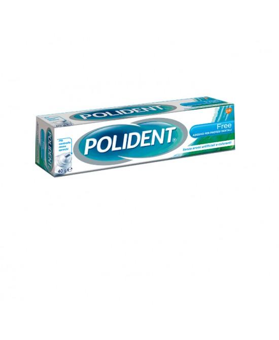 Polident Adesivo Per Dentiere Free Ipoallergico 40g - Farmacento
