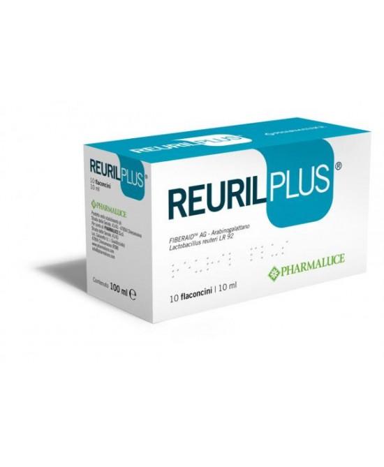 Pharmaluce Reuril Plus Integratore Alimentare  10 Flaconcini - Antica Farmacia Del Lago