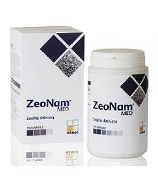 NAMED ZeoNam MED ZEOLITE ATTIVATA 180 CAPSULE - Farmawing