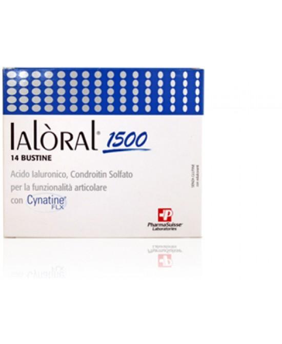 PharmaSuisse Ialòral 1500 Integratore Alimentare 14 Bustine - Farmacento