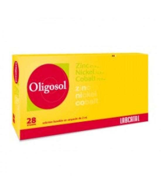 Labcatal Oligoelementi Zinco/Nichel/Cobalto Integratore Alimentare 28 Fiale 2ML - Farmawing