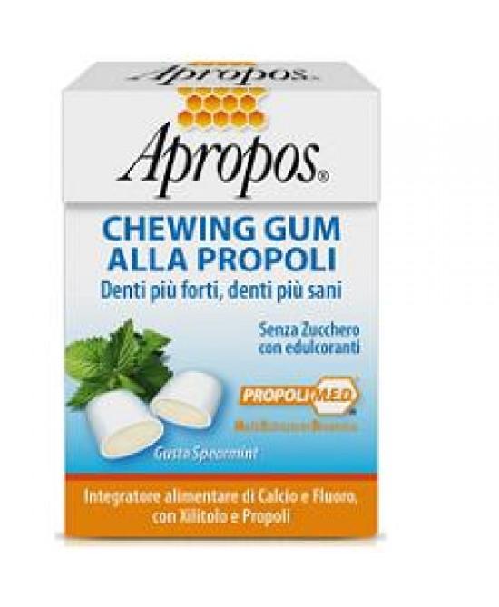 Apropos Chewingum Propoli 25g - Farmastar.it