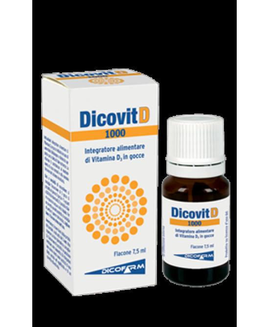 Dicofarm Dicovit D 1000 7,5ml - Zfarmacia