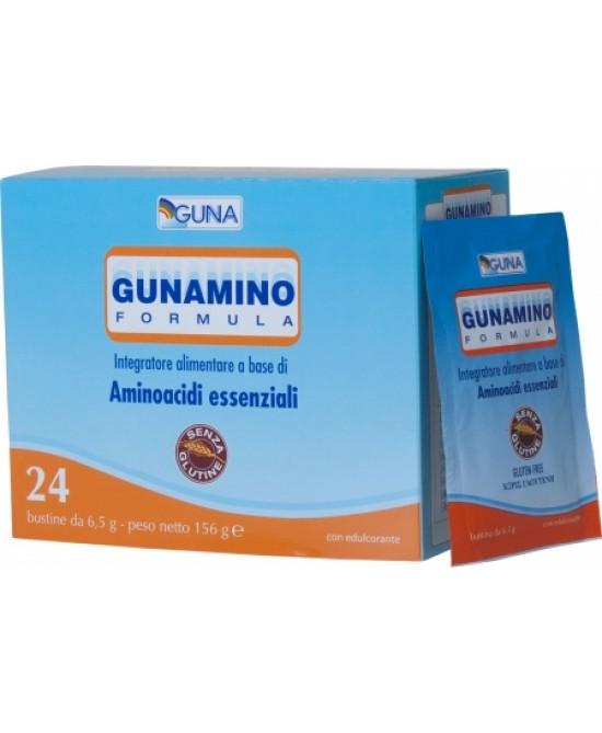 Guna Gunamino Formula Integratore Alimentare 24 Bustine - Farmacia 33