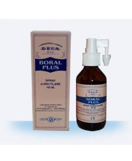 Boral Plus Spray Auricolare 100ml - FARMAEMPORIO