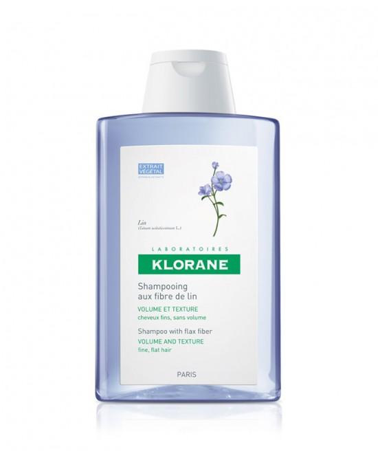 Klorane Shampoo Volumizzante Alle Fibre Di Lino 200ml - Farmamille