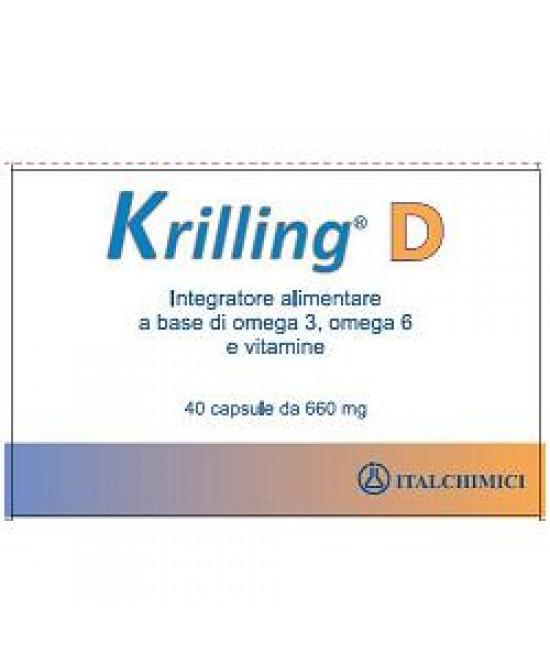 Krilling D 40cps - Zfarmacia