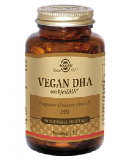 Solgar Vegan Dha 30 Perle - Farmacia 33
