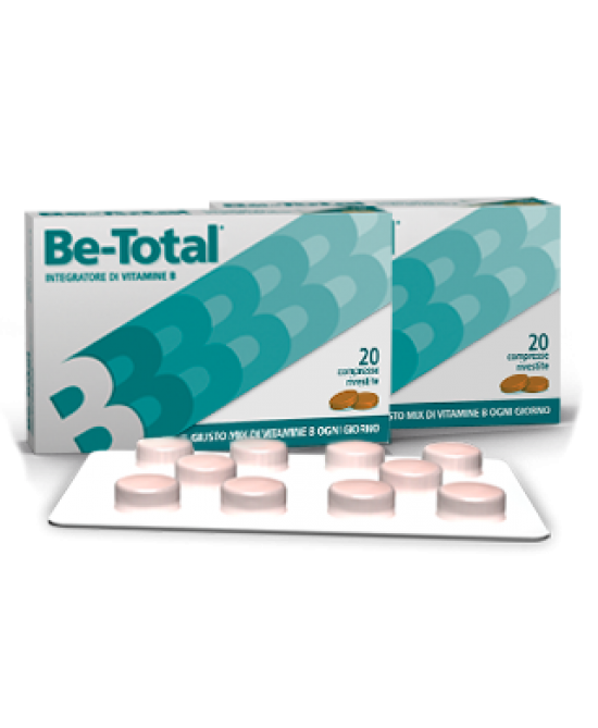 Be-Total Integratore Di Vitamine 40 Compresse Promo - La tua farmacia online