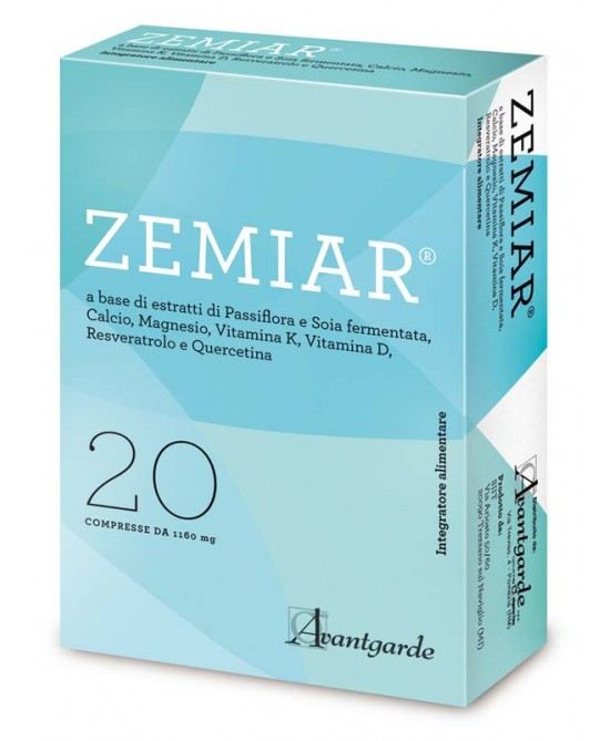 Avantgarde Zemiar Integratore Alimentare 20 Compresse - Zfarmacia