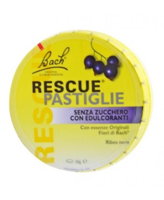 Rescue Pastiglie Ribes Nero Senza Zucchero 50Pastiglie - Farmawing