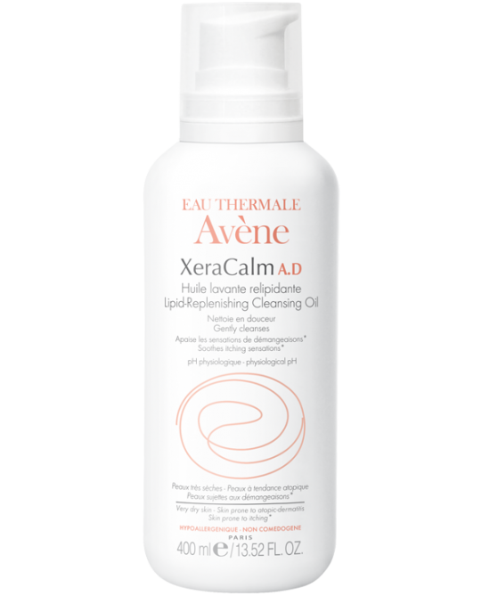 Avène Xeracalm A.D. Olio Detergente Liporestitutivo 400ml - Farmastar.it